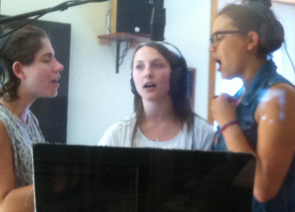 Back-up Vocals with Liz