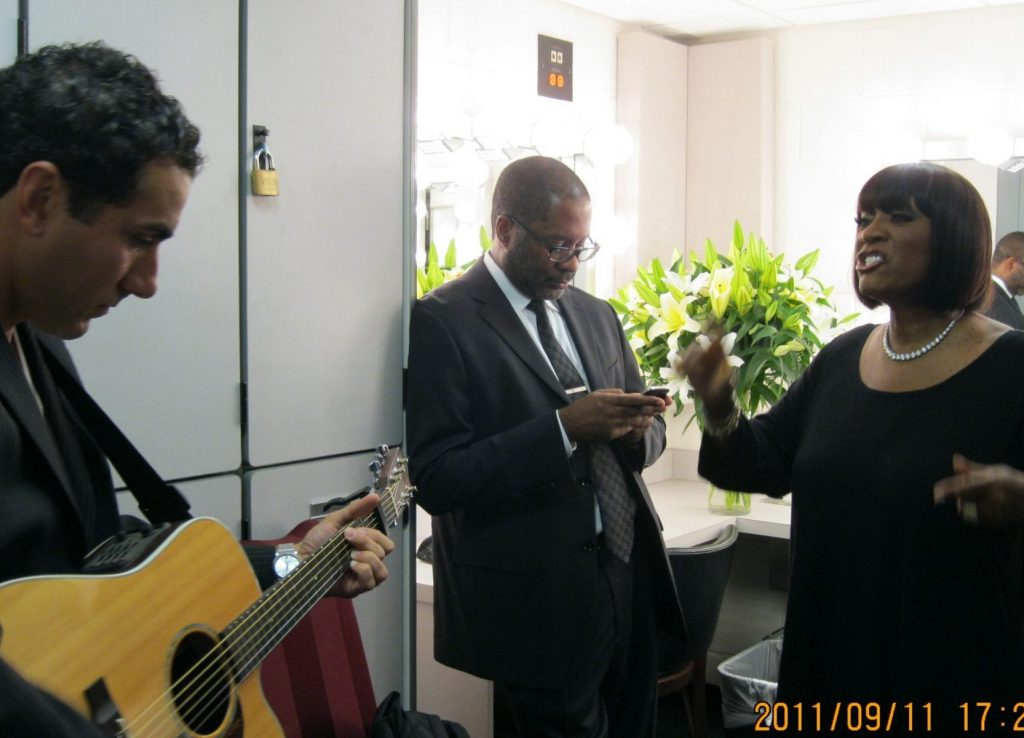 Kennedy Center with Patti LaBelle & Jon DeLise for Concert for Peace 11-Sept-2011