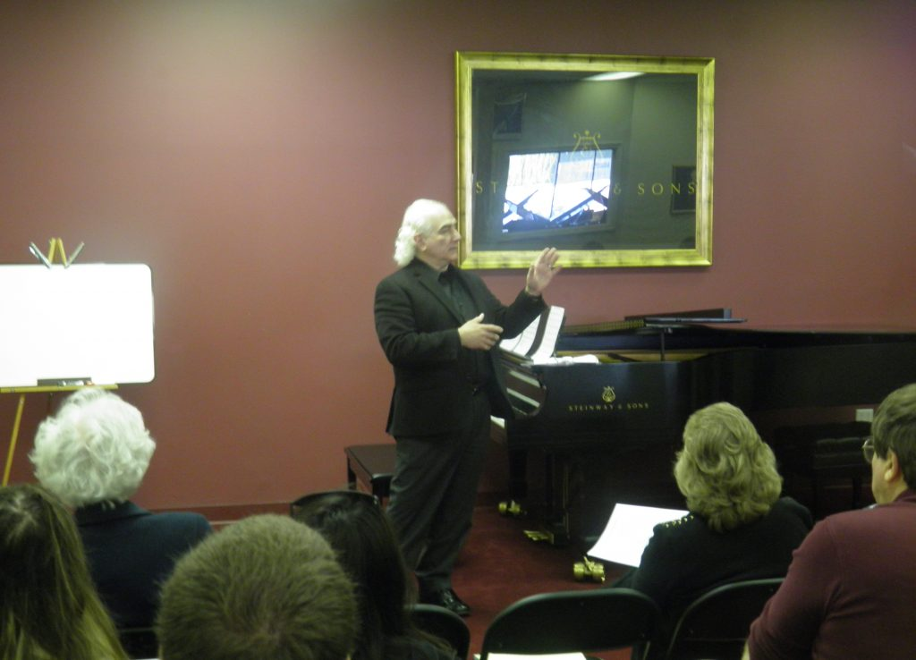 Seminar for Jacobs Music 2014