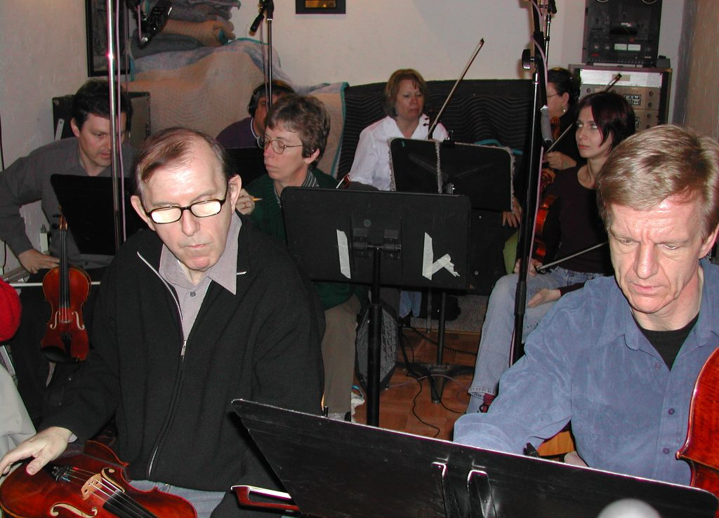 String date for the band FRUiT 2004