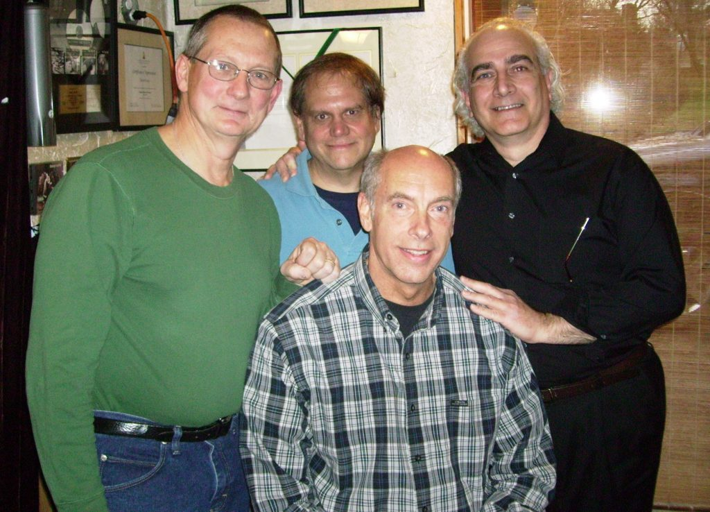 Vince Fay, Grant MacAvoy, Bruce McFarland, and Louis deLise