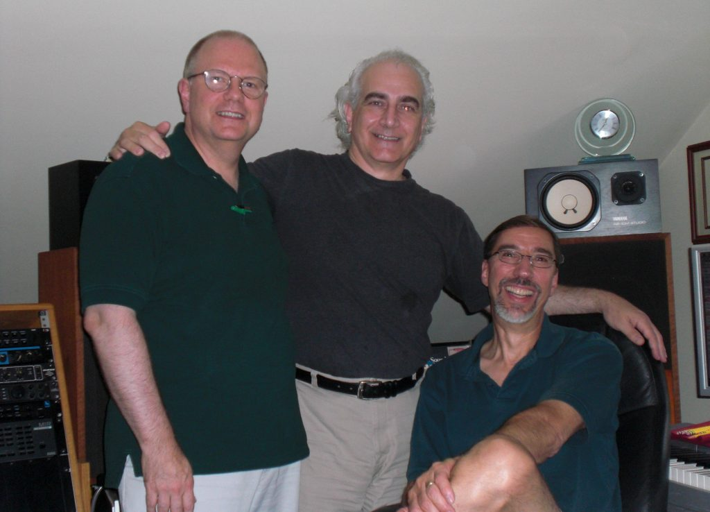 Author Roger Petersen and Composer Dan Barta
