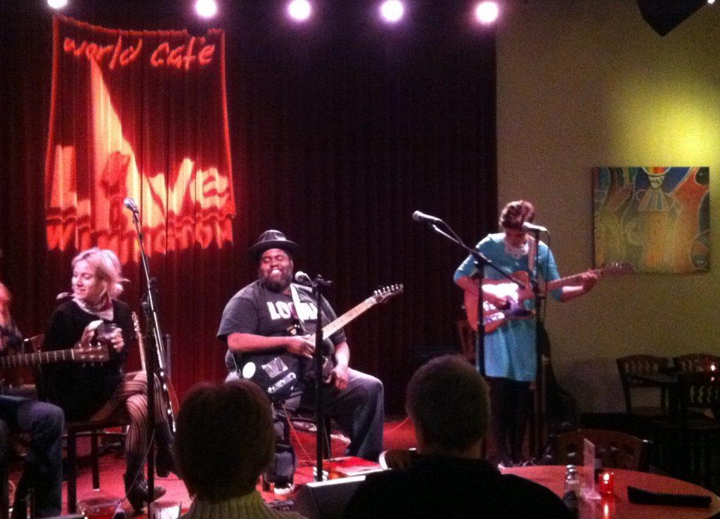 Liz de Lise at World Cafe Live