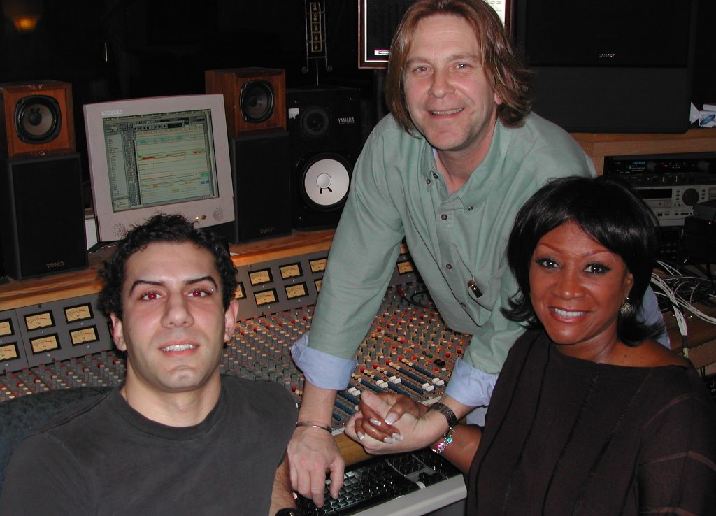 Jon DeLise, David Ivory, Patti LaBelle