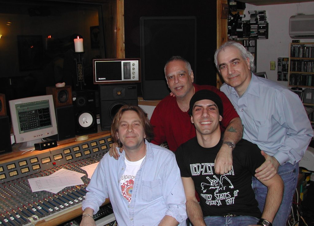 David Ivory, Mike Tarsia, Jon DeLise, Louis deLise