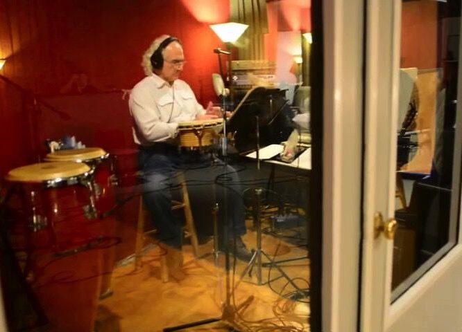 Recording Percussion - Studio gig
