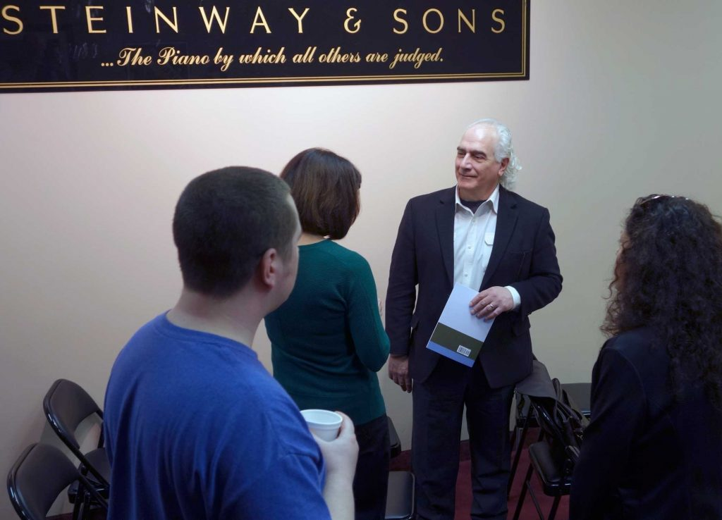 Presenting for Steinway